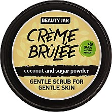 "Voňavky, Parfémy, kozmetika Peeling na tvár ""Creme brulee"" - Beauty Jar Gentle Scrub For Gentle Skin"