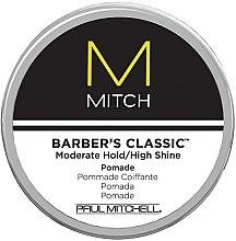 Voňavky, Parfémy, kozmetika Pomáda na lesk vlasov so slabou fixáciou - Paul Mitchell Mitch Barber's Classic
