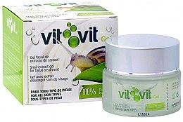 """Voňavky, Parfémy, kozmetika Gél na tvár """"Vit Vit"""" - Diet Esthetic Organic Snail Gel Vit Vit"""