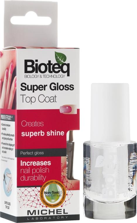 "Spevňovač nechtov ""Super lesk"" - Bioteq Super Gloss Top Coat"