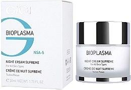 Voňavky, Parfémy, kozmetika Nočný výživný krém - Gigi Bioplasma Night Cream Supreme