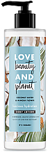 """Voňavky, Parfémy, kozmetika Lotion na telo """"Zvodná hydratácia"""" - Love Beauty&Planet Luscious Hydration Body Lotion"""
