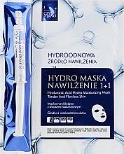 Voňavky, Parfémy, kozmetika Maska na tvár so sérom - Czyste Piekno Hydro Mask Cloth Face Intensive Hydrating + Serum