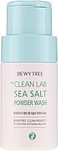 Voňavky, Parfémy, kozmetika Čistiaci púder s morskou soľou - Dewytree The Clean Lab Sea Salt Powder Wash