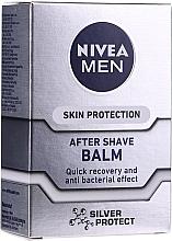 """Voňavky, Parfémy, kozmetika Antibakteriálny balzam po holení """"Strieborná ochrana"""" - Nivea For Men Silver Protect After Shave Balm"""