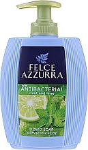 Voňavky, Parfémy, kozmetika Tekuté mydlo - Felce Azzurra Antibacterico Mint & Lime