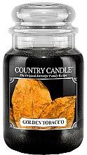 Voňavky, Parfémy, kozmetika Vonná sviečka v tube - Country Candle Golden Tobacco
