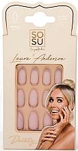 Voňavky, Parfémy, kozmetika Sada umelých nechtov - Sosu by SJ False Nails Medium Stiletto Laura Anderson Dainty