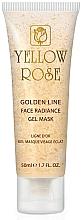 Voňavky, Parfémy, kozmetika Gélová maska na tvár so zlatom (tuba) - Yellow Rose Golden Line Face Radiance Gel Mask