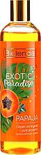 """Voňavky, Parfémy, kozmetika Sprchový gél """"Papaya"""" - Bielenda Exotic Paradise Bath & Shower Oil"""