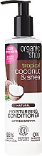 "Voňavky, Parfémy, kozmetika Balzam na vlasy ""Coconut and Shea Butter"" - Organic Shop Coconut And Shea Conditioner"