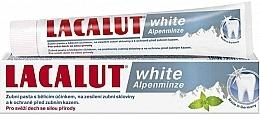 """Voňavky, Parfémy, kozmetika Zubná pasta """"Biela alpská mäta"""" - Lacalut White Alpenminze Toothpaste"""