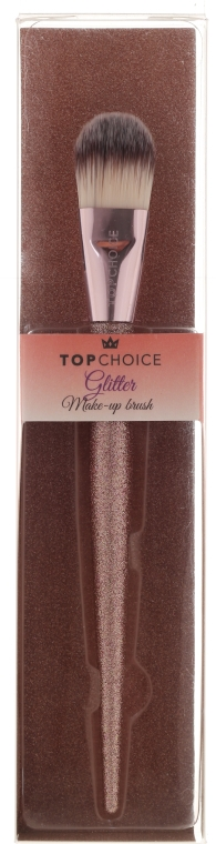 Štetec na tónovaciu bázu a korektor 37412 - Top Choice Glitter Make-up Brush