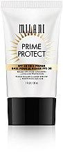 Voňavky, Parfémy, kozmetika Primer s ochranou SPF 30 - Milani SPF 30 Prime Protect SPF 30 Face Primer