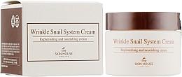 Voňavky, Parfémy, kozmetika Anti-aging slimačí krém na tvár - The Skin House Wrinkle Snail System Cream