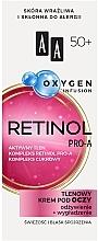 Voňavky, Parfémy, kozmetika Krém na viečka 50+ - AA Oxygen Infusion Retinol Pro-A Eye Cream