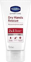 Voňavky, Parfémy, kozmetika Antibakteriálny krém na ruky - Vaseline Expert Care Dry Hands Rescue 2in1 Moisturising Hand Cream