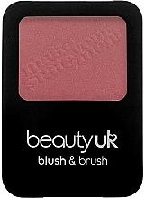 Voňavky, Parfémy, kozmetika Lícenka na tvár so štetcom - Beauty UK Blush & Brush