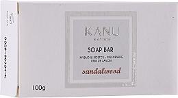 "Voňavky, Parfémy, kozmetika Kusové mydlo ""Santalové drevo"" na ruky a telo - Kanu Nature Soap Bar Sandalwood"