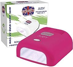 Voňavky, Parfémy, kozmetika UV ampa na nechty, malinová - Ronney Profesional Judy UV 36W (GY-UV-230) Lamp