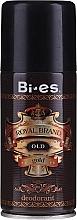 Voňavky, Parfémy, kozmetika Deodorant v spreji - Bi-es Royal Brand Gold