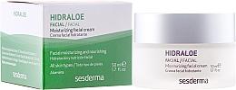 Voňavky, Parfémy, kozmetika Zvlhčujúci krém pre tvár - SesDerma Laboratories Hidraloe Moisturizing Face Cream