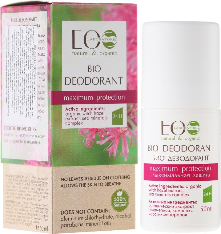 "Bio dezodorant ""Maximálna ochrana"" - ECO Laboratorie Bio Deodorant"