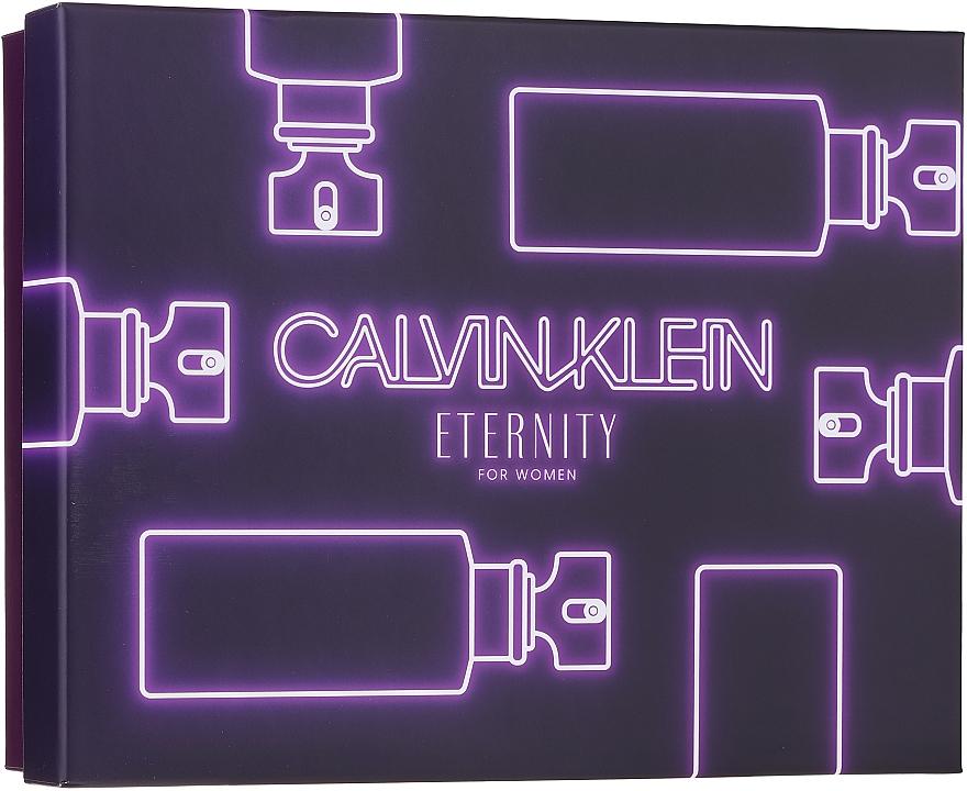 Calvin Klein Eternity For Woman - Sada (edp/100ml + edp/10ml + b/l/100ml)