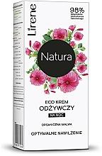 """Voňavky, Parfémy, kozmetika Nočný krém na tvár """"Malva"""" - Lirene Natura Eco Cream"""