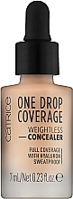 Voňavky, Parfémy, kozmetika Korektor - Catrice One Drop Coverage Weightless Concealer