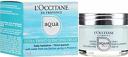 Voňavky, Parfémy, kozmetika Ultra hydratačný krém na tvár - L'Occitane Aqua Reotier Acial Ultra Hidratante