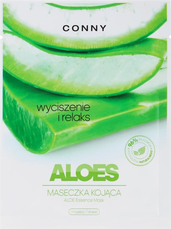 "Maska na tvár ""Aloe"" - Conny Aloe Essence Mask"