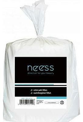 Bezchlpkové vatové tampóny na manikúru, buničina - Neess Cotton Pads