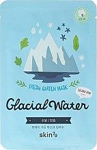 Látková maska na tvár - Skin79 Fresh Garden Mask Glacial Water — Obrázky N1