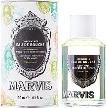 Voňavky, Parfémy, kozmetika Kondicionér pre ústnu dutinu - Marvis Concentrate Strong Mint Mouthwash