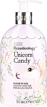 """Voňavky, Parfémy, kozmetika Tekuté mydlo na ruky """"Jednorožec"""" - Baylis & Harding Beauticology Unicorn Candy Hand Wash"""