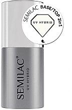 Voňavky, Parfémy, kozmetika Základ-top 2 v 1 pre gél-lak - Semilac Base/Top 2in1