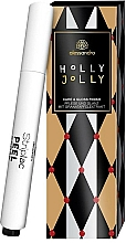 Voňavky, Parfémy, kozmetika Ceruzka na nechty a kutikulu - Alessandro International Holly Jolly Care & Gloss Finish