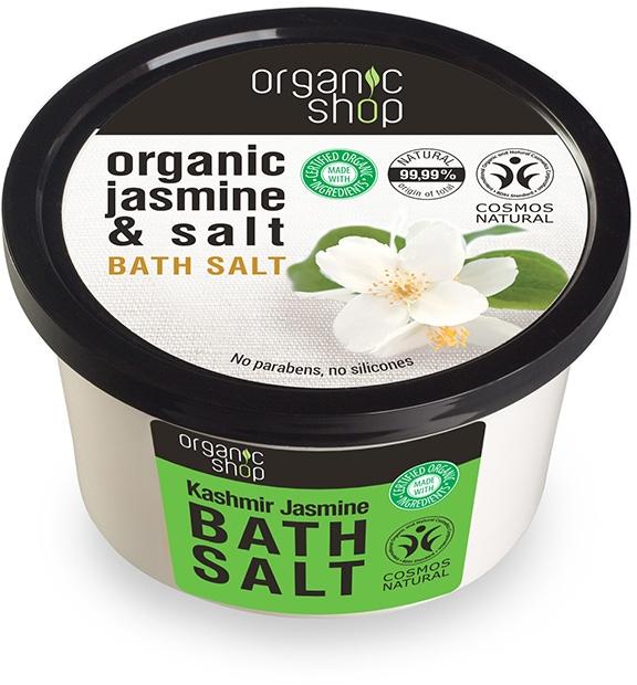 """Soľ do kúpeľa """"Jasmín Kašmír"""" - Organic Shop Baths Salt Organic Jasmine & Salt"""