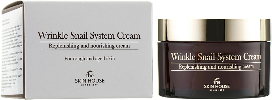 Anti-aging slimačí krém - The Skin House Wrinkle Snail System Cream