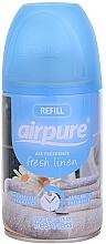Voňavky, Parfémy, kozmetika Osviežovač vzduchu Sviežosť - Airpure Air-O-Matic Refill Fresh Linen
