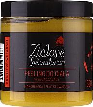 """Voňavky, Parfémy, kozmetika Vyhlazujúci peeling na telo """"Mrkva a ovsené vločky"""" - Zielone Laboratorium"""