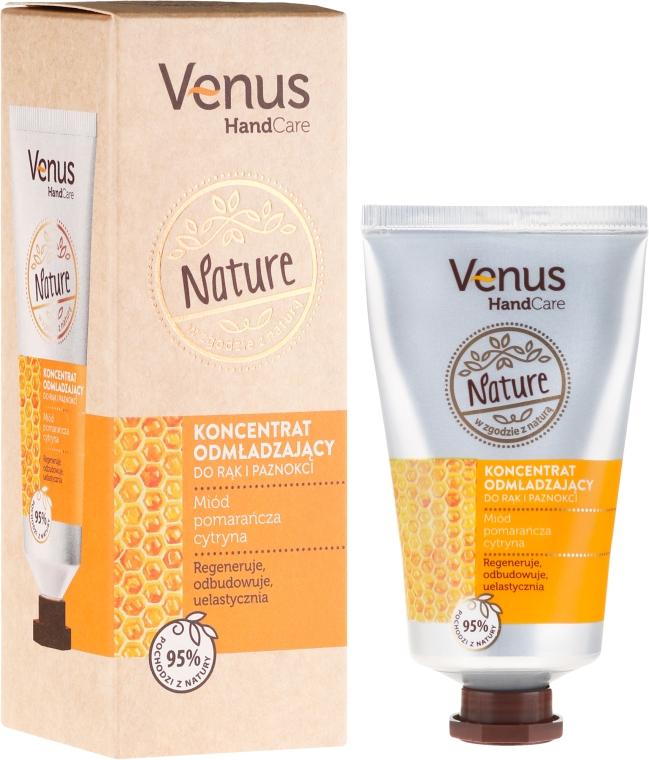 Omladzujúci koncentrát na ruky a nechty - Venus Nature