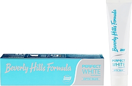 Voňavky, Parfémy, kozmetika Zubná pasta - Beverly Hills Formula Perfect White Optic Blue