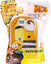 """Voňavky, Parfémy, kozmetika Detská hubka do kúpeľa """"Mimoni"""", Patrick, žlto-modrá - Suavipiel Minnioins Bath Sponge"""