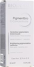 Voňavky, Parfémy, kozmetika Sérum na tvár - Bioderma Pigmentbio C Concentrate Brightening Pigmentation Corrector