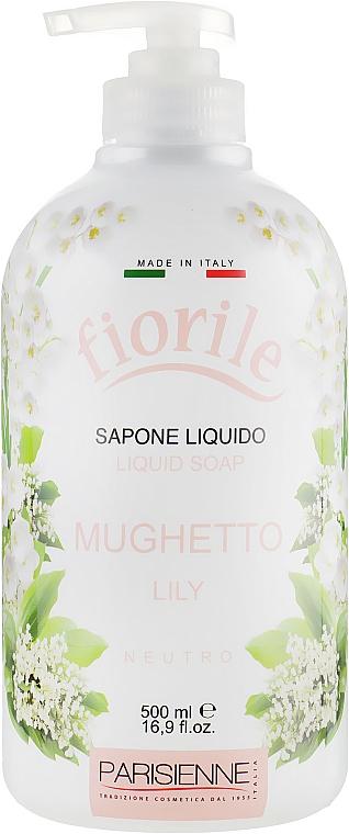 """Tekuté mydlo """"Lily"""" - Parisienne Italia Fiorile Lily Liquid Soap"""