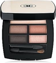 Voňavky, Parfémy, kozmetika Paleta očných tieňov s efektom prirodzenej žiary - Chanel Les Beiges Healthy Glow Natural Eyeshadow Palette