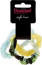 Voňavky, Parfémy, kozmetika Gumičky do vlasov Hair Band Amazing, FA-5531, 3 ks - Donegal