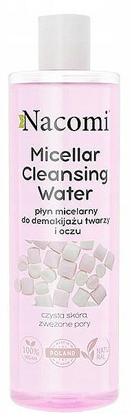 Micelárna voda - Nacomi Micellar Cleansing Water Marshmallow